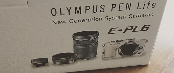 OLYMPUS PEN Lite E-PL6でミラーレス一眼デビュー!